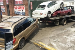 No Limit Towing - multiple junk cars towing