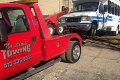 No Limit Towing - small bus towing