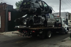 No Limit Towing - multiple car towing after accident