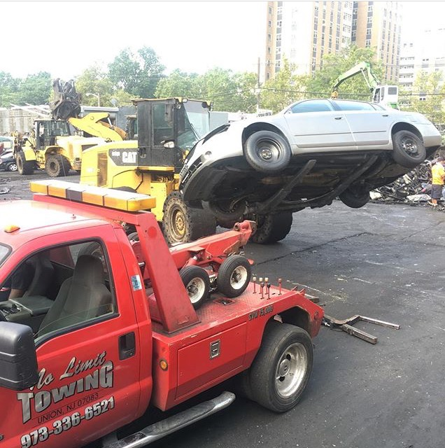towing junk cars in nj